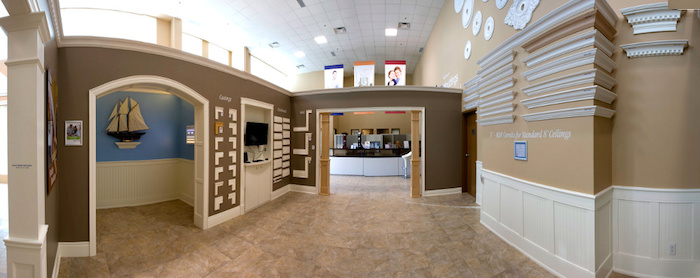 crown moulding showroom Toronto
