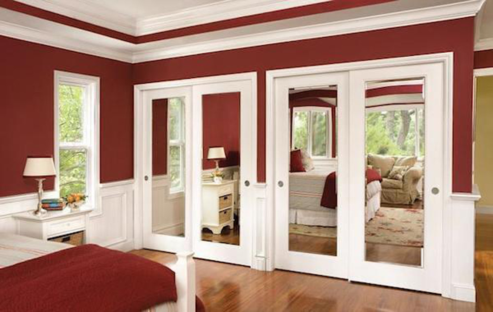 morror doors by Jeld Wen