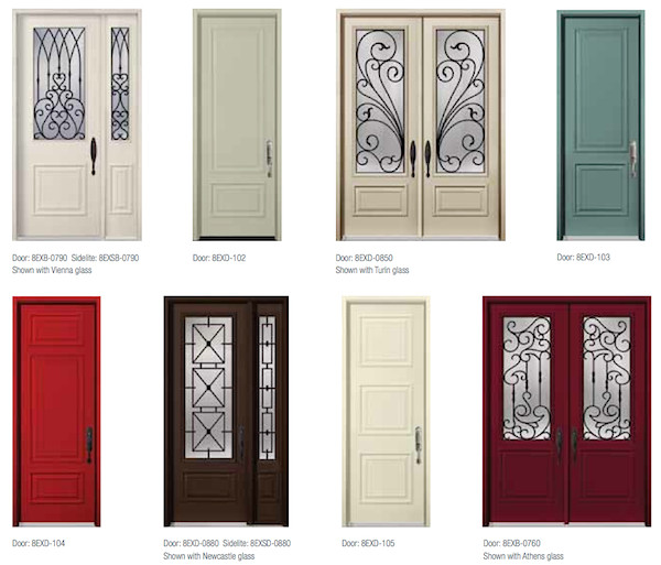 steel doors executive series