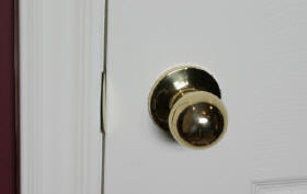 Roundknob door handle