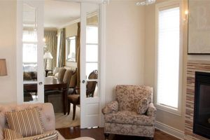 Five Rows French Door Livingroom