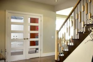 Transparent Hall French Door